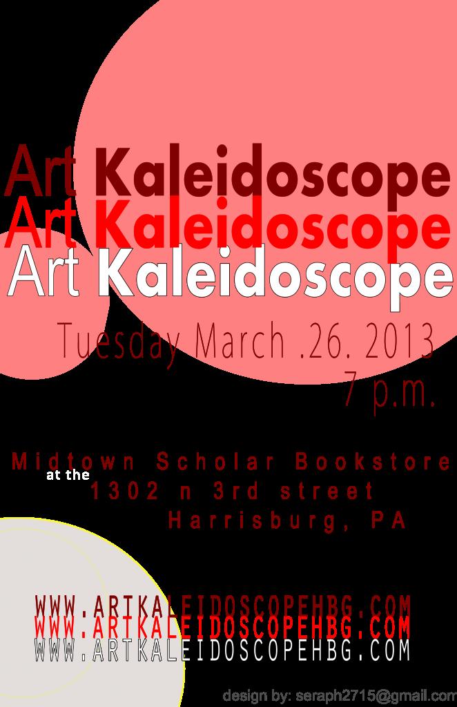 March Art Kaleidoscope
